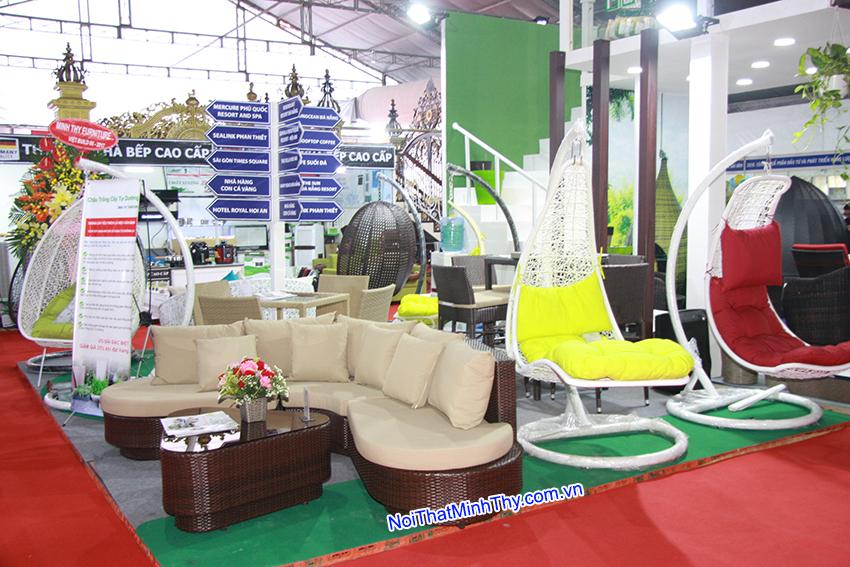 Minh thy furniture tham gia trien lam quoc te vietbuild 15