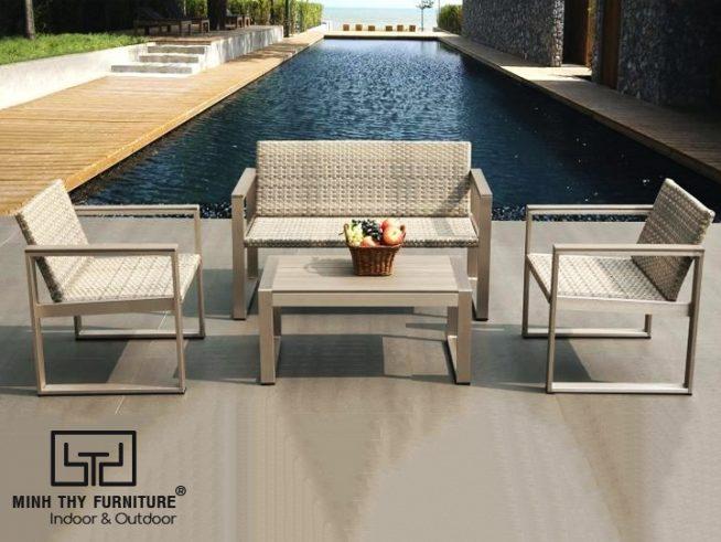 sofa may nhua san vuon MT1A76