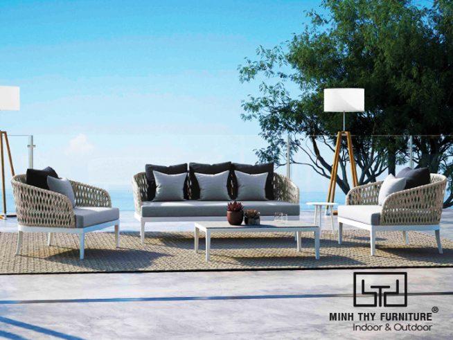 sofa may nhua san vuon MT1A78