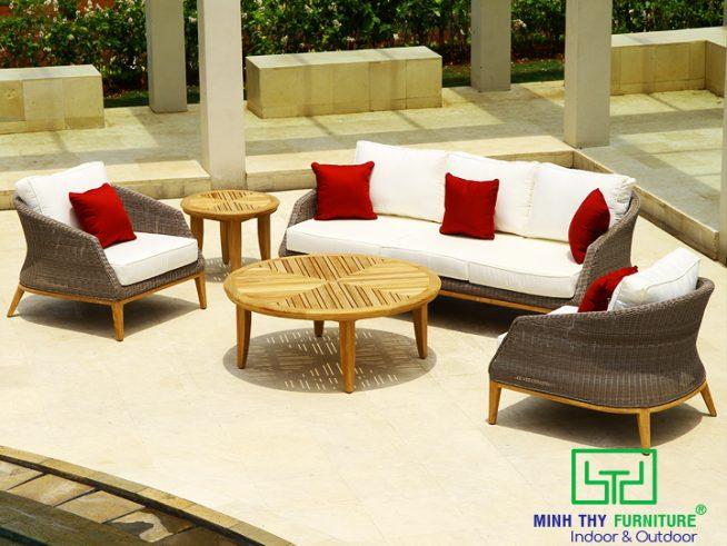 sofa may nhua san vuon MT1A79