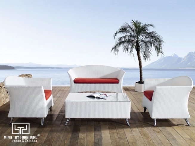Sofa mây nhựa MT159